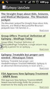 Epilepsy UptoDate screenshot 1