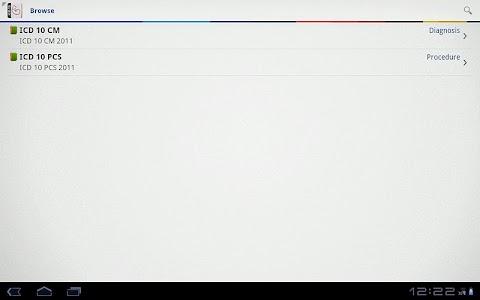 ICD 10 Lite 2012 screenshot 3