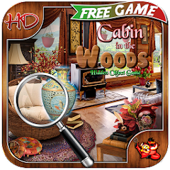 Cabin in Woods - Hidden Object free game