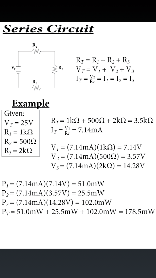 How To Calculate Series And Parallel Resistance With Cheat Sheets