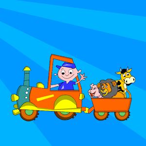 Kids Animal Game-Zoo TrainFULL