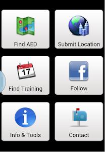 Defibrillator Map screenshot 0