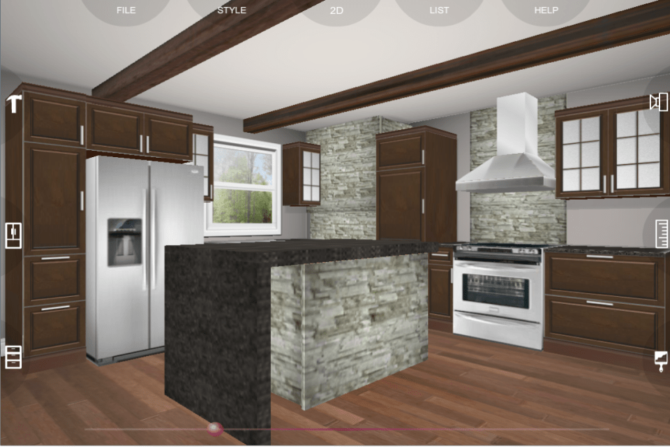 Interior Home Page Full Kitchen Planing Drowing