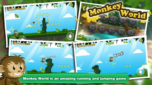 Monkey World screenshot 2