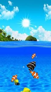 Aqua World HD Free wallpaper screenshot 1