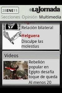 La Jornada mini screenshot 3