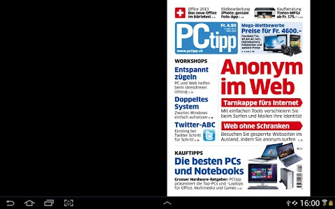 PCtipp E-Paper screenshot 1