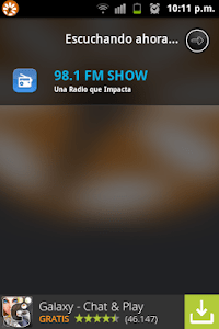 98.1 FM Show screenshot 1