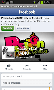 Pasión Latina Radio screenshot 1