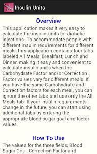Insulin Units screenshot 2