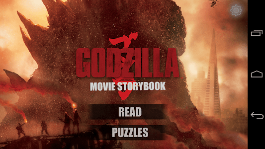 Godzilla™ - Movie Storybook screenshot 0