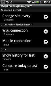 Analytics Widget screenshot 5