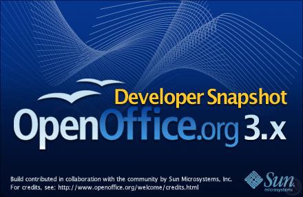 OpenOffice 3.0 Beta