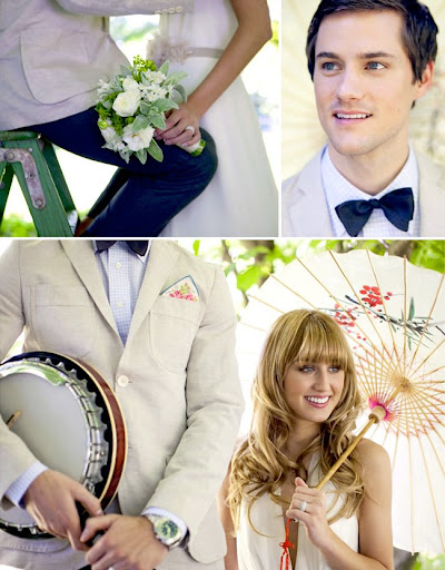 simple-romantic-bride's-wedding-dress