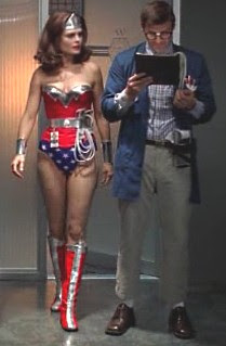 Bones as Wonder Woman