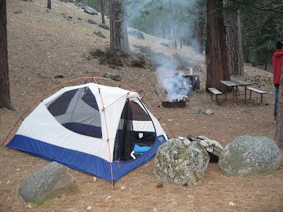 Wawona camping site