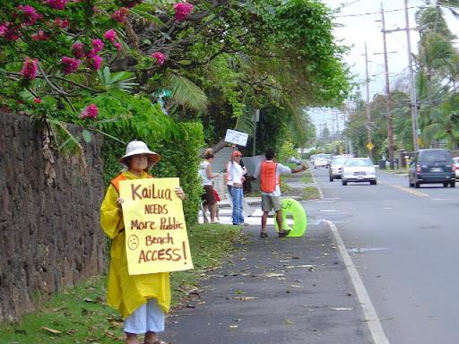 Kailua Signwaving