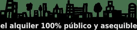 el alquiler 100% público y asequible