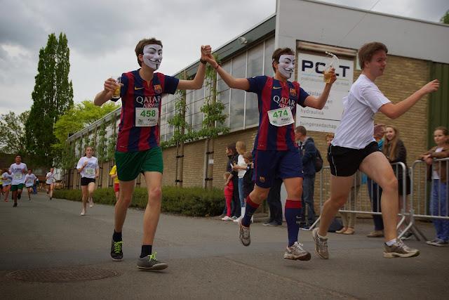 Louis Vandaele en Michiel Moeyaert, van anonymous, dwars over de Mandel 2015