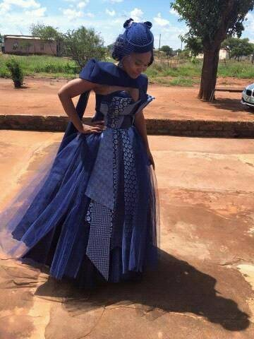 Looking For A Beautiful Shweshwe Dress Styles 7