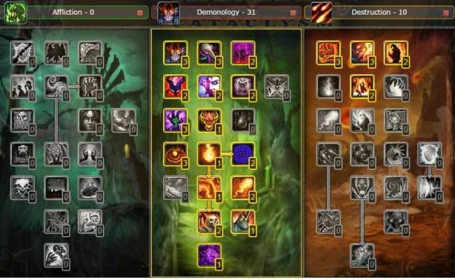 Pvp Demonology Warlock Talent Build Specs Glyphs Guide Wow Cataclysm 4 3 4 Wow Best Pvp Pve Dubai Khalifa