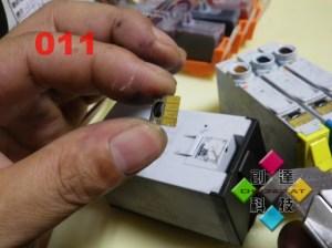 拆卸原廠晶片3