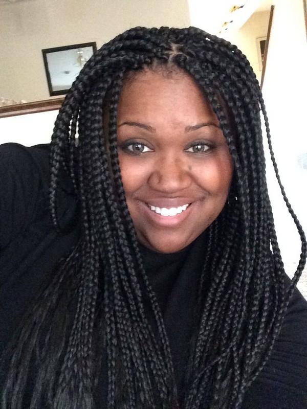 How to Do Jumbo Box Braids 2019 For Black Women's 3