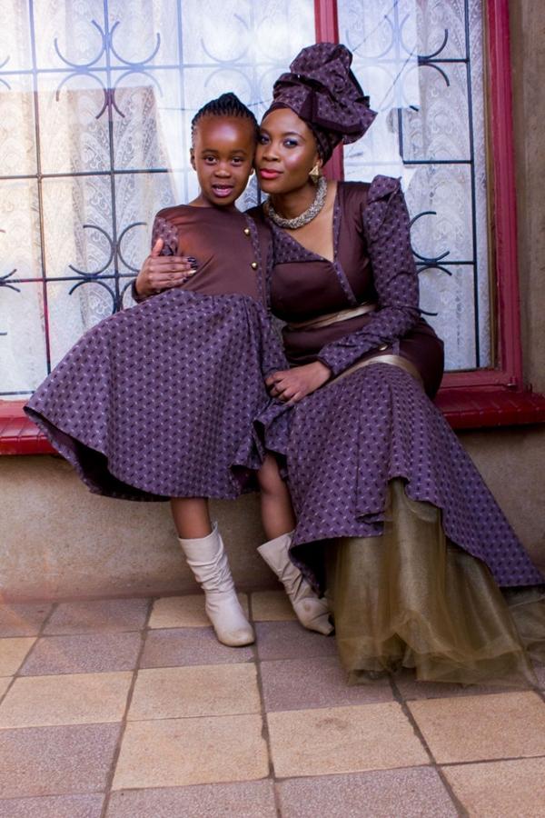 Shweshwe Traditional Dresses for Bridesmaids 2016 2017 - Reny styles
