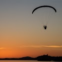 Advanced 3rd - Paraglider at Sunset_Colin Rowe.jpg