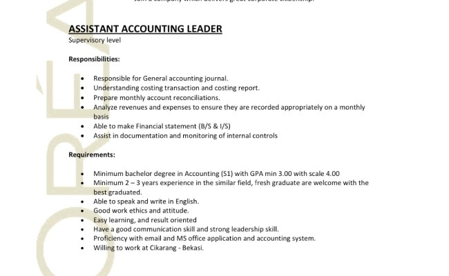 Contoh Application Letter Accounting Staff Cute766