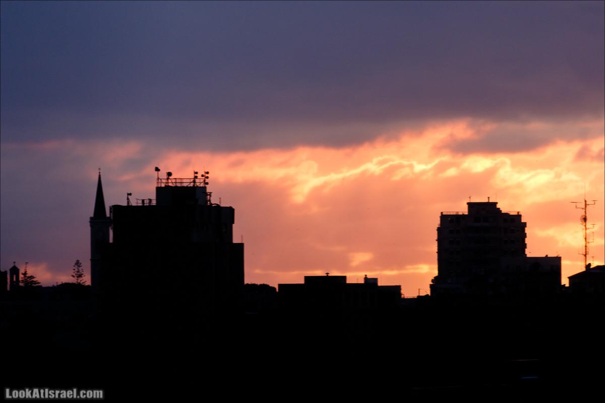 Одно фото на закате