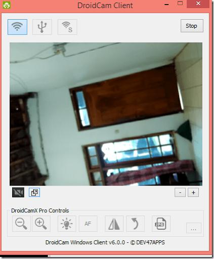 tutorial menjadikan hp android sebagai web camera