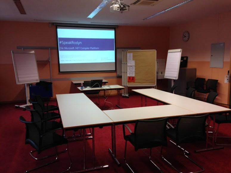 The #SpeakRoslyn Workshop Room