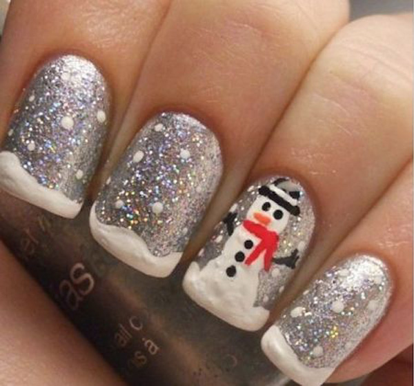 Best Christmas Nail Art Designs 2016
