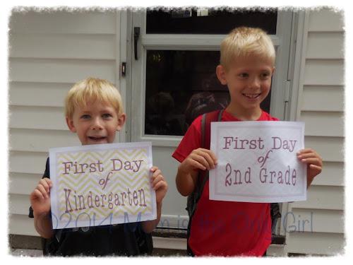 first day of school http://www.momistheonlygirl.com