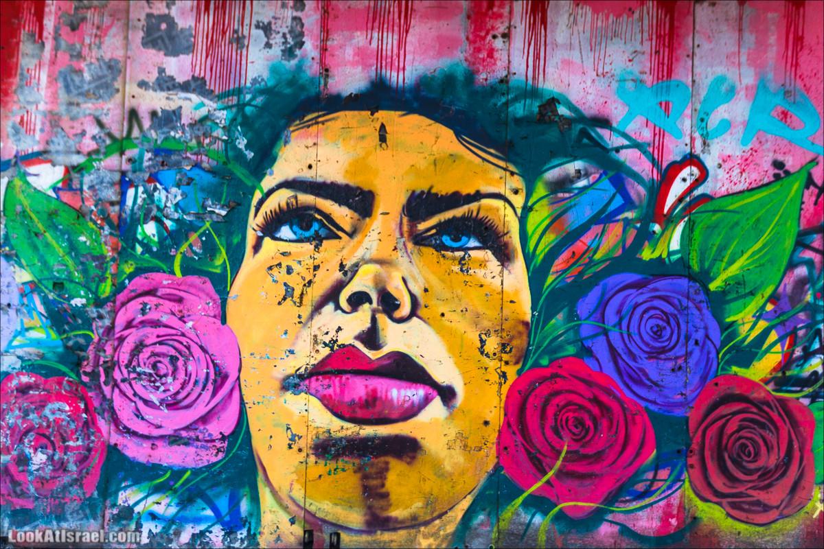 Граффити Тель Авива из прошлого