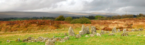 Guided tours of Beaghmore Stone Circles, Tyrone