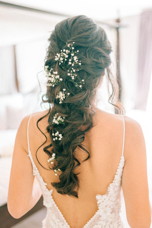WATERFALL LOOK FOR AFRICAN BRIDE HAIR STYLES 5