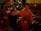 Left to Right: Connor, Hunter, Logan, Isabella, Colden - 2004