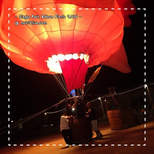 ขึ้นบอลลูน Singha Park International Balloon Fiesta