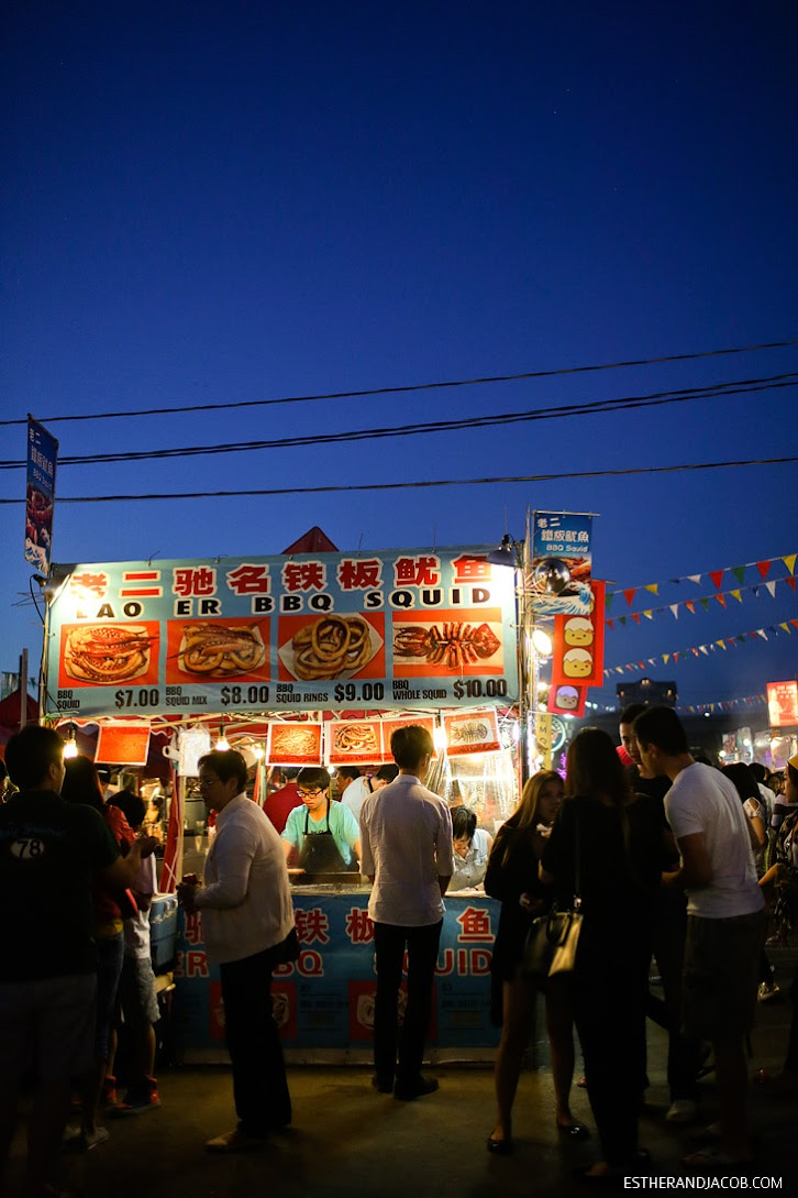 Richmond BC Night Market // Vancouver Canada Things to Do.