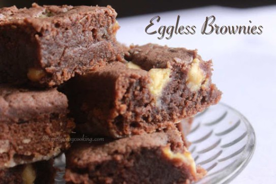 Eggless Brownies5