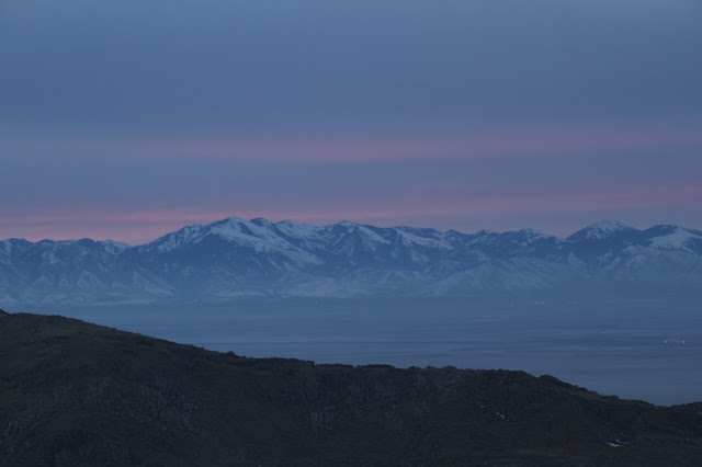 Sunrise over the Wasatch