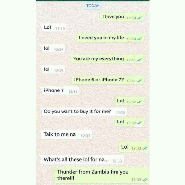 See funny whatsapp chat that issued between a boo and a bae fbimg14805374307333971 see funny whatsapp chat that issued between a boo and a bae sciox Gallery