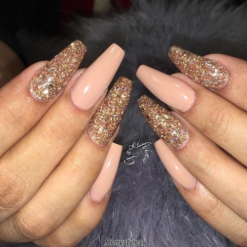 Top gold nail art designs