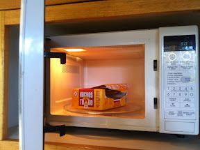 Nachos to Go in the microwave