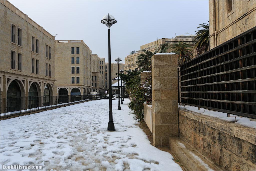 Снег в Иерусалиме. Часть III – Современный город | LookAtIsrael.com - Фотографии Израиля и не только...