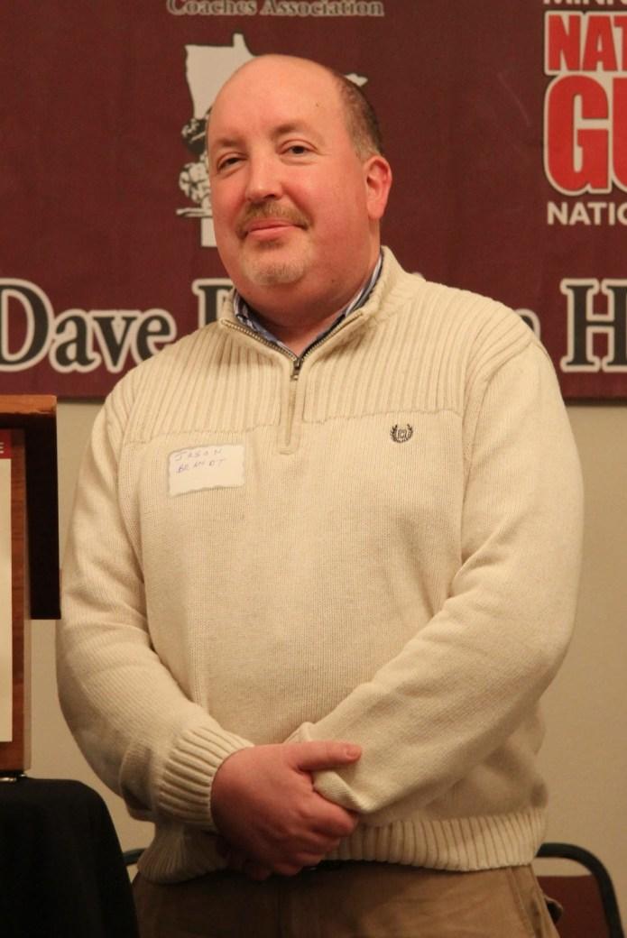 MWCA Media Award Honoree Jason Brandt of KSCR/KBMO Radio, Benson.