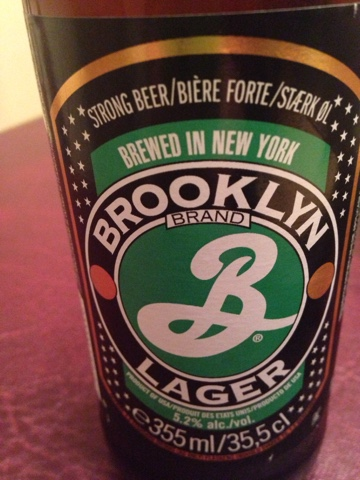 Brooklyn Lager (from USA)