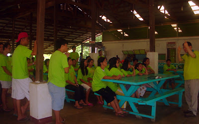 Day 2 - Bible study groupings, Green Team